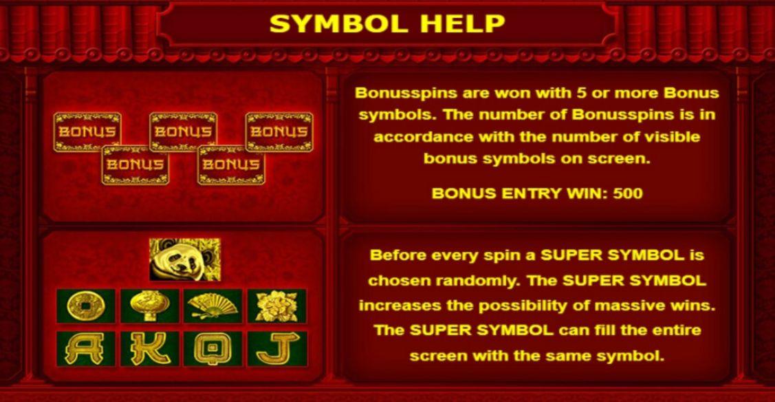 Big Panda Bonus Spins Symbol Help