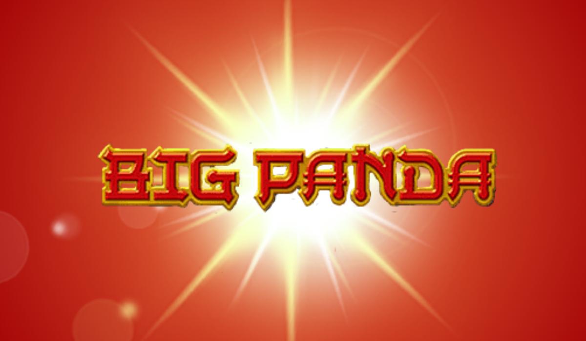 Big Panda Slot Machine