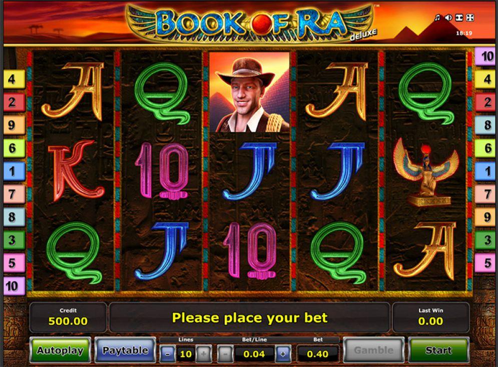 Book of Ra Slots Gameplay