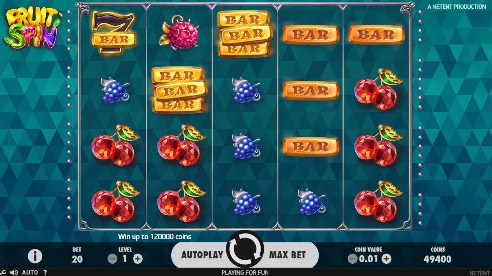 Fruit Spin Slots Gameplay