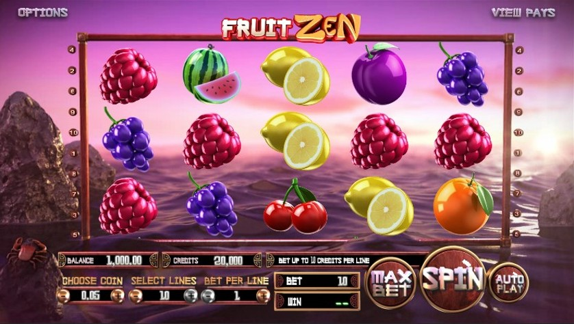 Fruit Zen Slot Gameplay