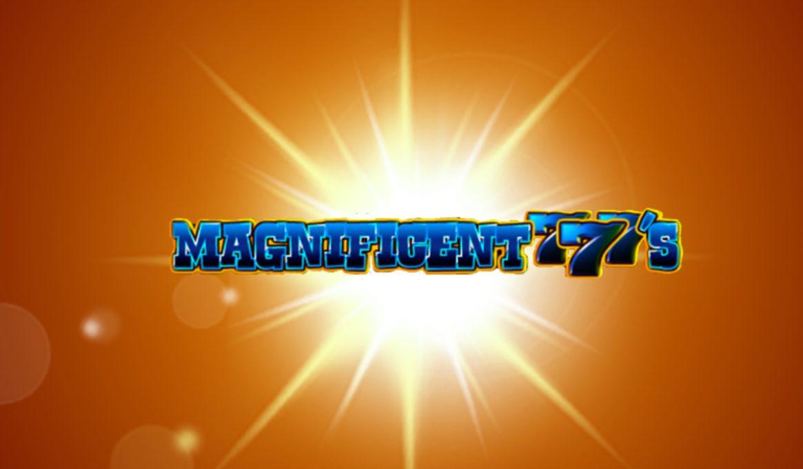 Magnificent 777s Slot Machine