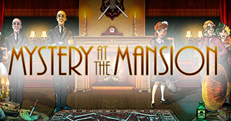 Mystery at the Mansion Slots Gameplay Logo
