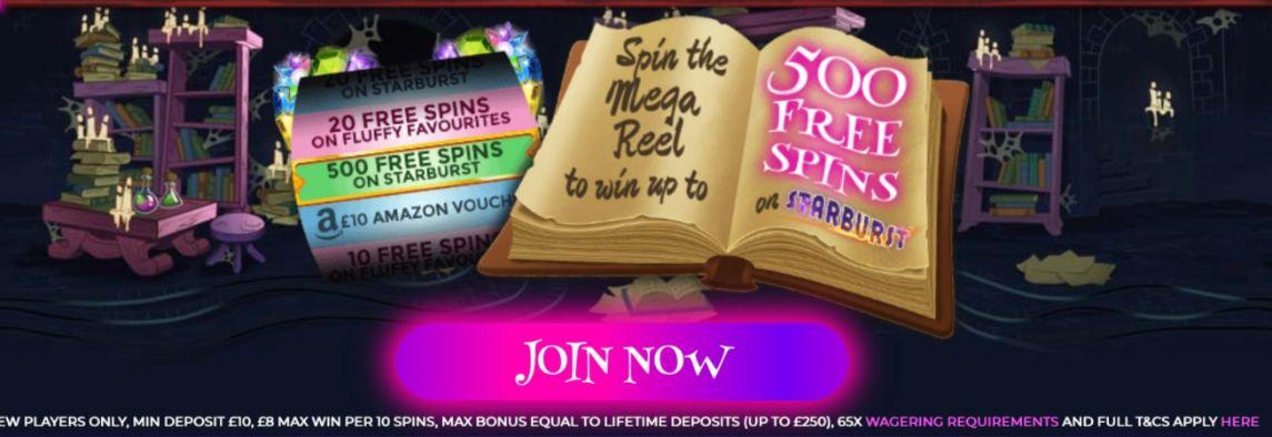 Wizard Slot Machine promotion