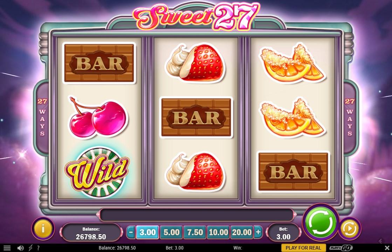 Sweet 27 Slots Reels