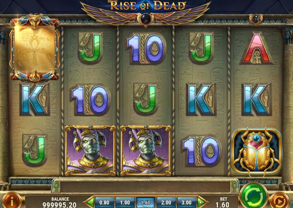 rise of dead slots reels