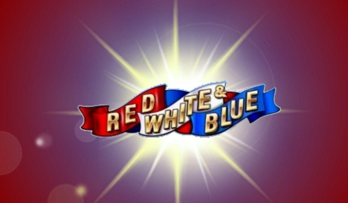Red, White, and Blue Slot Machine