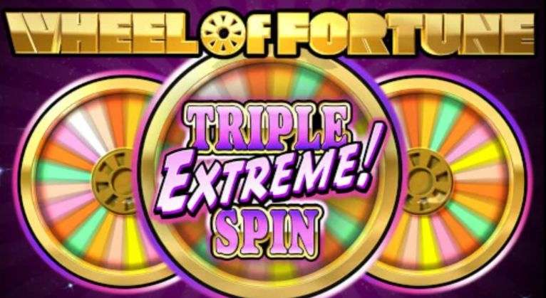 Wheel of Fortune Triple Extreme Spin Slot Machine