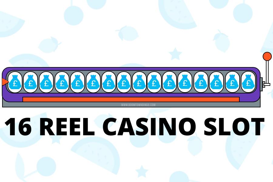 16 Reel Game Casino Slot