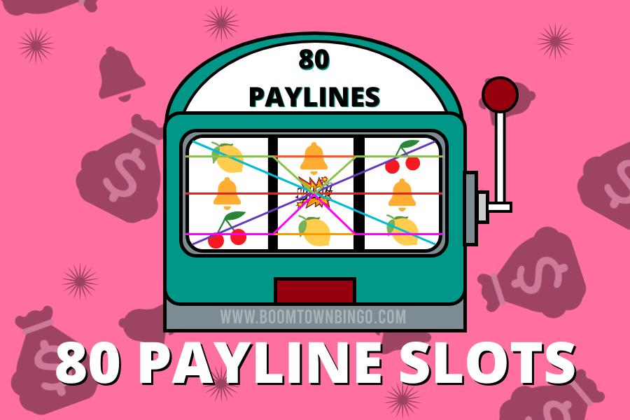 80 Payline Slots